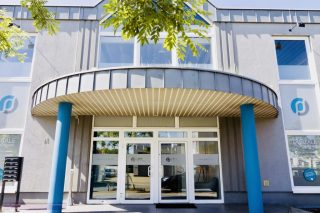 Die DHW-Zentrale in Oberhausen